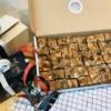 Een foto van de brievenbusdoos van Parkoers